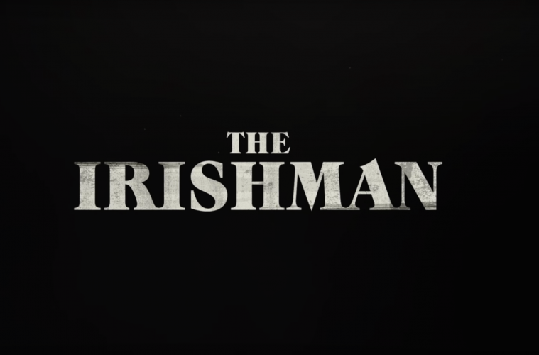 The Irishman movie title
