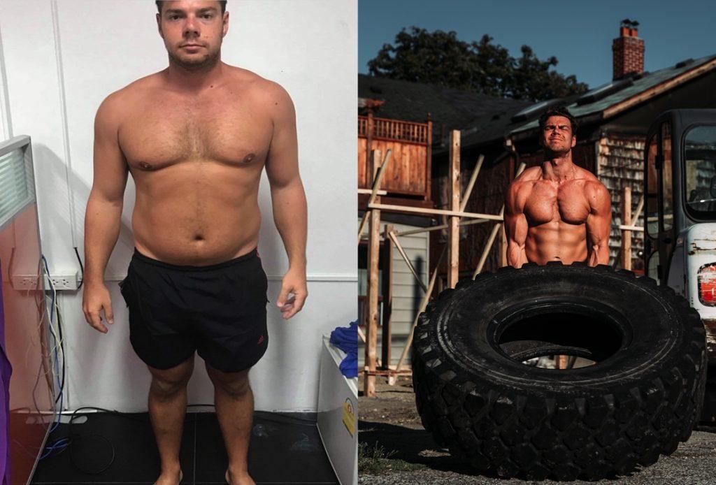 Adam Goldstein body transformation