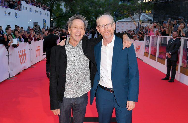 Brian Grazer and Ron Howard at TIFF Red Carpet