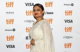 Geetu Mohandas at TIFF Red Carpet